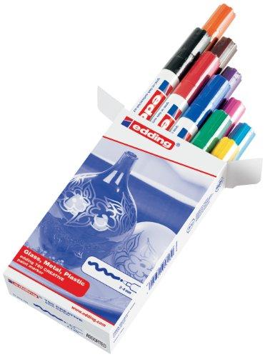 edding 4-750-9-999 Glanzlack-Marker creative 750, 2 - 4 mm, sortiert