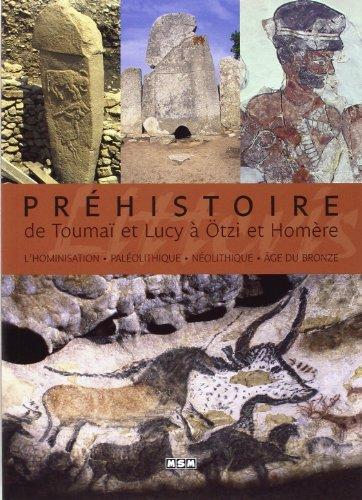 Préhistoire : de Toumaï et Lucy à Ötzi et Homère