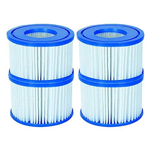 Bestway VI Schwimmen Planschbecken Whirlpool Lay Z Spa Filtration Filter  Patronen 4 FILTERS