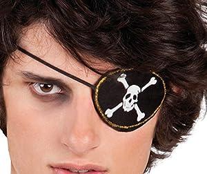 Boland Disfraz 74291Juego Pirata, Ojo Solapa y Pendientes, One Size