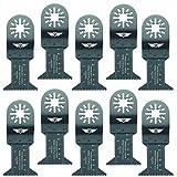 10x 44mm Topstools Un44j _ 10lames de coupe de bois pour Bosch, Fein Multimaster, Multitalent, Makita, Milwaukee, Einhell, Ergotools, HITACHI, Parkside, Ryobi, Worx, Workzone Multitool Outil multifonction Accessoires