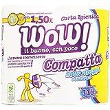 WOW.–Papier toilette, 2plis–715G 4rouleaux
