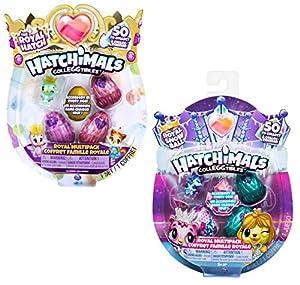 Spin Master Hatchimals CollEGGtibles 4 Pack + Bonus - Season 6 - Kits de Figuras de Juguete para niños (5 año(s))