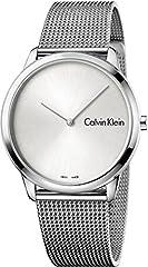 Idea Regalo - Calvin Klein Orologio Analogico Quarzo Uomo con Cinturino in Acciaio Inox K3M211Y6