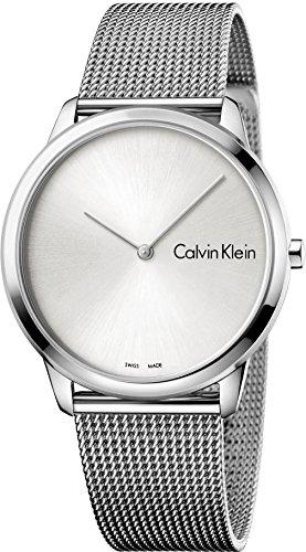 Calvin Klein Homme Analogique Quartz Montre avec Bracelet en Acier Inoxydable K3M211Y6