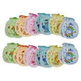 #10: Aarushi Printed Baby's Mittens Pack of 12