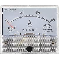Clase 2,5 precisión DC 0-30A de escala analógico con pantalla baritina