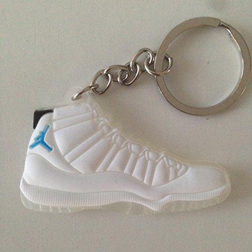 Preisvergleich Produktbild Air Jordan XI Sneaker Schlüsselanhänger Columbia Keychain 11
