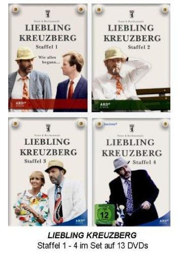 Staffel 1-4 Set (13 DVDs)
