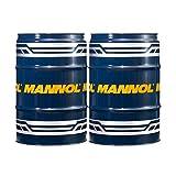 MANNOL 2 x 60 Liter Garagenfass, Defender 10W-40 API SL/CF