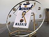 Türkische Airlines Euroleague Basketball Desktop Tisch Uhr–Jeder Name jeder beliebigen Nummer jedes Team., Spain Real Madrid Basketball