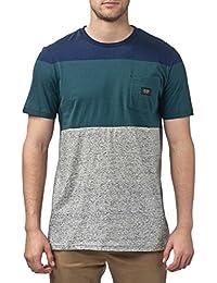 Globe - T-shirt - Manches Courtes - Homme Gris bleu marine