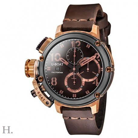 U-Boat Chimera Chrono Black and Bronze Limited Edition