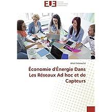 Économie d'Énergie Dans Les Réseaux Ad hoc et de Capteurs