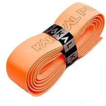 Karakal PU Supergrip replacement racquet grip - tennis / badminton / squash - fluorescent orange x