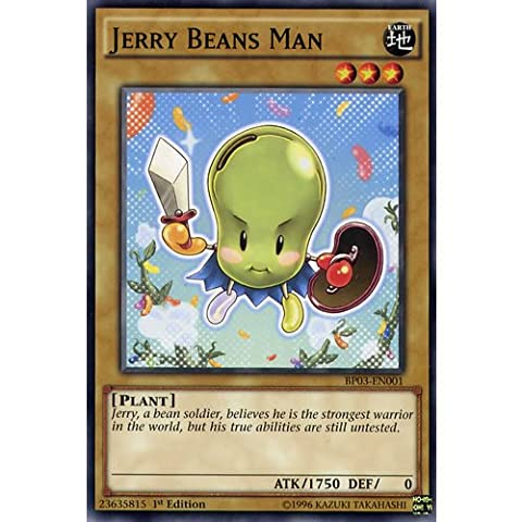 YuGiOh : BP03-EN001 Unlimited Ed Jerry Beans Man Common Card - ( Monster League Battle Pack Yu-Gi-Oh! Single Card