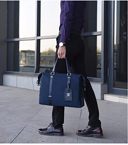 Männer Die Handtasche, Männer - Oxford Tuch, Einheitlichen Schulter Schräg Cross - Tasche, Business - Aktentasche, Computer - Tasche schwarz