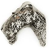 WIRE FOX TERRIER Made in U.K Artistic Style Dog Clutch Lapel Pin Collection by DOG ARTS JP