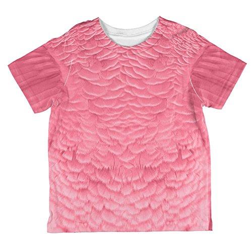Halloween Pink Flamingo Kostüm aller Kleinkind T Shirt Multi 6 (Kostüm Für Flamingo Baby)