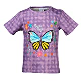 Beanie Bugs printed Casual T-shirt for older girls in Purple Colour (3-4 years)