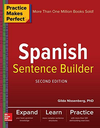 Download Practice Makes Perfect Spanish Sentence Builder PDF