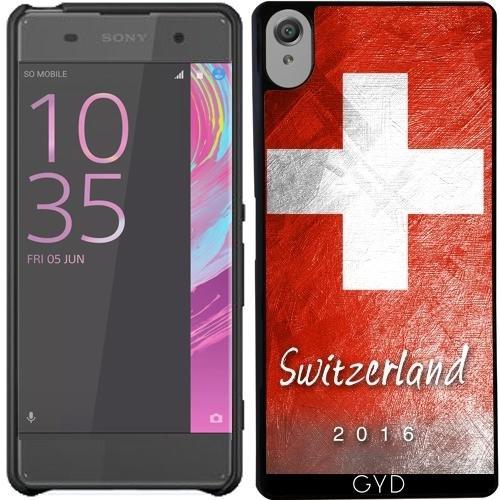 Hülle für Sony Xperia X - Schweizer Flagge by Julien Kaltnecker