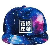 918coshiert Unisex BTS Baseball Cap Bangtan Boys BTS Hüte Suga Jin Jimin Jung Kook J-Hope Rap-Monster V (Galaxis/花样年华, F)