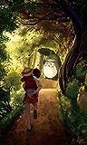 TMEET Bande Dessinée Comics60X40Cm Hayao Miyazaki Anime Film Affiche, Café Bar Affiche Peinture Décorative Art Stickers Muraux Décor À La Maison V