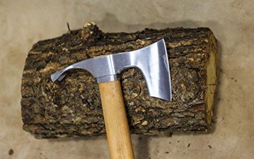 Bärtige Beil / Axt kombiniert mit gebogenem dechsel Blade – Bowl Makers Tool-Rare!