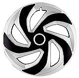 4 x Radkappen REX RING MIX 16' Zoll Silver & Black Radzierblenden KIA,OPEL,SEAT,