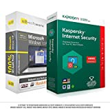 Microsoft® Windows 10 Professional (PRO) + Kaspersky Bundle. Original-Lizenz. 32 bit & 64 bit. Deutsch+ML. Audit Sicher, S2-ISO DVD, Lizenz. CLP Zertifikat. Refurbished