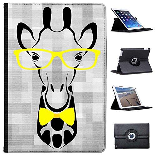 Fancy A Snuggle Hipster-Giraffe mit Brille Case Cover/Folio aus Kunstleder für Das Apple iPad Pro 10.5
