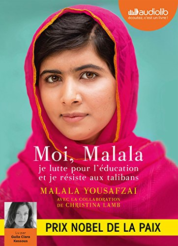 Moi, Malala: Livre audio 1 CD MP3