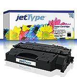 jetType Toner ersetzt HP 05X / CE505X für LaserJet P2055DN / P2055 / P2055D / P2055X, schwarz, 6.500 Seiten
