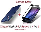 #9: YuniKase Mi redmi 4 / Xiaomi Redmi 4 / Redmi 4 / Mi 4 / Redmi4 / Mi4 (COMBO OFFER) All Sides Protection