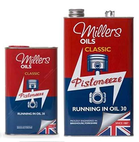 Millers Classic running in SAE30olio 6litri