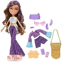 Bratz Music Festival Vibes Doll Yasmin - muñecas (Chica, Multicolor, De plástico, Doll bag, Doll eyeglasses, Cepillo de muñecas, Doll headband, bisutería de muñecas, Doll phone, Doll, Femenino, CE)