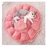 Pet Bed Kennel Cat Nest Schlafsack für kleine Hund Hund Prinzessin Pet Cat Bed vier Jahreszeiten allgemeine Zweck-Rosa (größe : S)