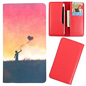 DooDa - For Sony Xperia E / E Dual PU Leather Designer Fashionable Fancy Case Cover Pouch With Card & Cash Slots & Smooth Inner Velvet