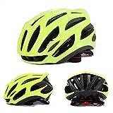 HUOFEIKE Profi-Fahrradhelm, Radhelm, Mountainbike-Lüftung und winddichtem Adjustable Head Size Sports Fahrradhelm, Male/Female,Green