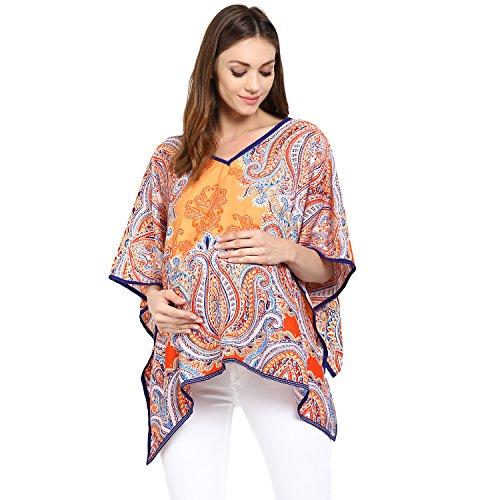 Wobbly Walk 2-in-1 Poncho for Maternity & Nursing (Multi)