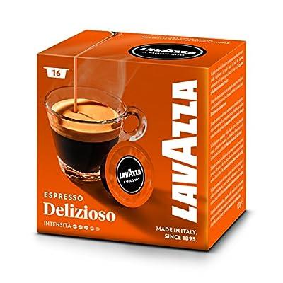 Lavazza A Modo Mio Delizioso Coffee Capsules (1 Pack of 16)