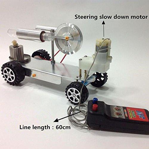 Heißluft-Stirlingmotor Modell Motor Power Strom-Generator Motor A5W (Den Rad Für Generator)