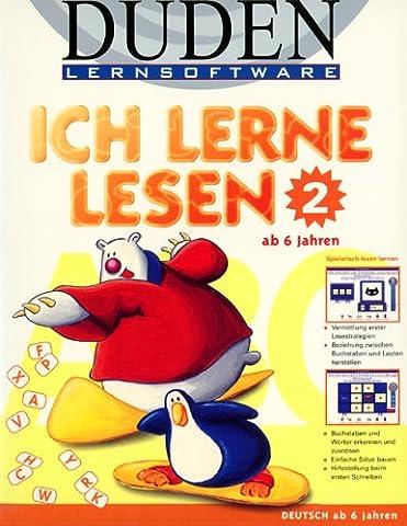 Duden Lernsoftware, CD-ROMs, Ich lerne lesen, 1 CD-ROM (Teil 2)