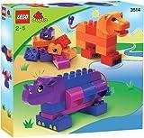 LEGO DUPLO Steine 3514 - Rhino & Löwe