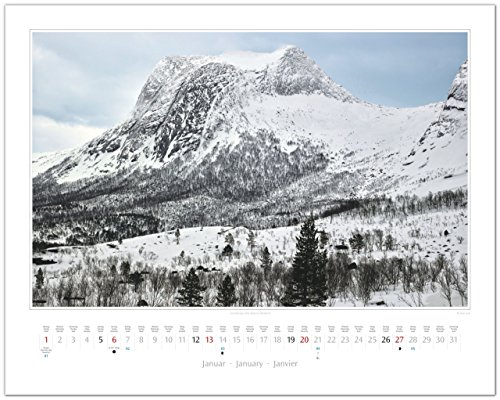 GF-Kalender NORWEGEN - Land der Fjorde 2019: Alle Infos bei Amazon