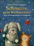 Schnauze, es ist Weihnachten: Eine Adventsgeschichte in 24 Kapiteln (Die Schnauze-Reihe, Band 1)