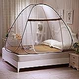 Pop-Up-Mücken-Zelt für Betten, gegen Mückenstiche, faltbar, mit Netzboden, für Babys und Erwachsene