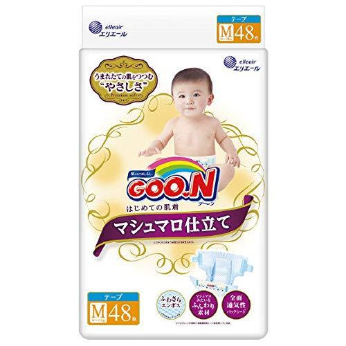 Japanische GOO.N M 6-11 KG MARSHMALLOW PREMIUM SOFT//Japanese diapers nappies - GOO.N M 6-11 KG MARSHMALLOW PREMIUM SOFT//Японские подгузники GOO.N M 6-11 KG MARSHMALLOW PREMIUM SOFT -