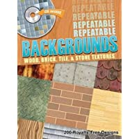 Repeatable Backgrounds: Wood, Brick, Tile & Stone